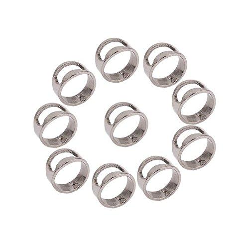 Tinksky Stainless Steel Finger Ring Bottle Opener Hitchen To
