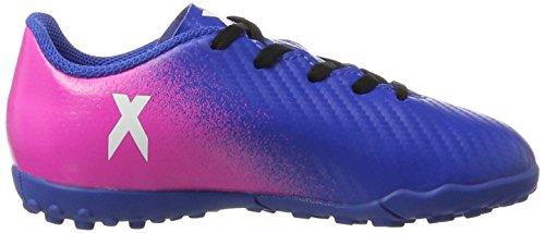 adidas X 16.4 TF J - Botas de fútbolpara niños, Azul - (AZUL/FTWBLA/ROSIMP), -30