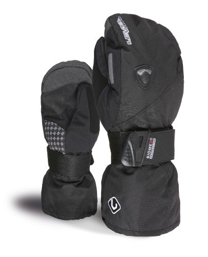 Level Butterfly Snowboard Mitt - Women's Black 8
