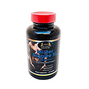 Mister BIGGIEE XL, Size Matters, 2+ inches Plus in 60 Day, Penis Enlargement, LIBIDO Boost,Increase Energy and Endurance, 100% Natural, 100% Made in USA,60 Capsules per Bottle,BE The New You! natural male libido enhancement - 41nhCx0VWBL - natural male libido enhancement
