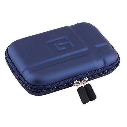 Couleur: Bleu Pudincoco PU Housse de Transport Rigide Housse Housse de Protection Dure 5 Pouces pour Voiture Sat Nav Holder pour GPS Classic
