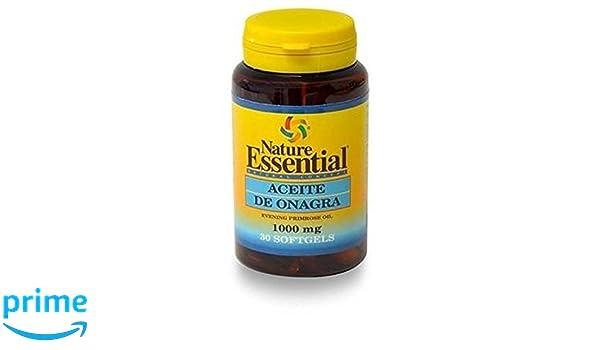 Nature Essential Aceite de Onagra - 30 Cápsulas: Amazon.es: Salud y cuidado personal