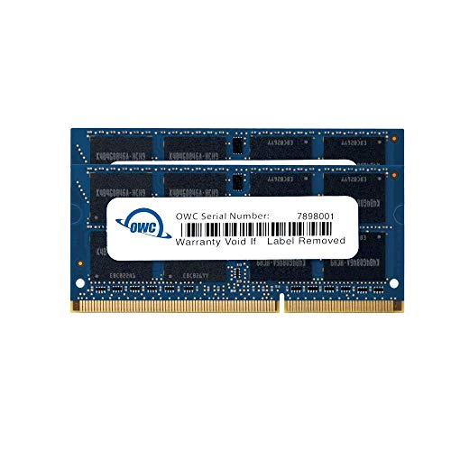 (OWC 8.0GB (2X 4GB) P1333MHz 204-Pin DDR3 SO-DIMM PC3-10600 CL9 Memory Upgrade Kit, (OWC1333DDR3S08S))