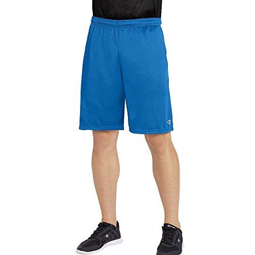 Champion Men's Double Dry Select Short, Velvet Evening/Shadow Gray, ()