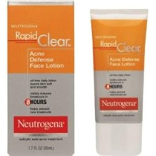 Neutrogena Rapid Clear Acne Defense Face Lotion 1.70 oz - Import It All
