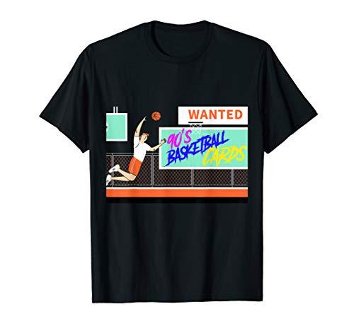 90s Basketball Trading Card Collector Hobby Tshirt Gift