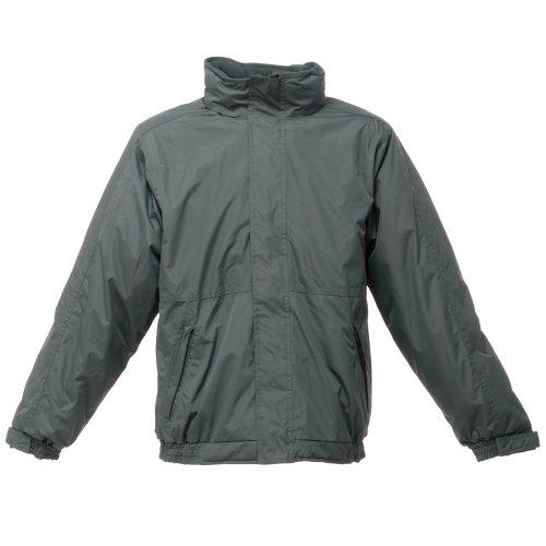 grigio Foca Impermeabile vento Giacca Regatta Uomo Lime Anti Dover H6fw0
