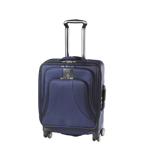 [Travelpro Luggage WalkAbout LITE 4 20-Inch Expandable Wide Body Spinner, Blue, One Size] (20