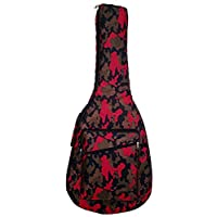 Star House RED Dynamic Printed Best Acoustic Guitar Bag 13