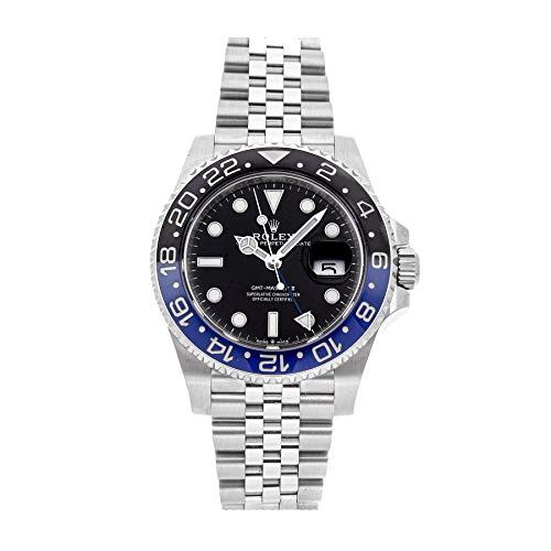 Rolex GMT Master II Mechanical (Automatic) Black Dial Mens Watch 126710BLNR (Certified Pre-Owned) (Gmt Master Ii Rolex)