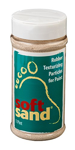 SoftSand Rubber Particles, SR-102 Pint with Sifter Lid ()