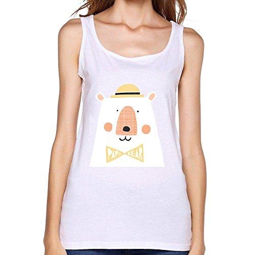 oulin-womens-papa-bear-tank-top-white-xl