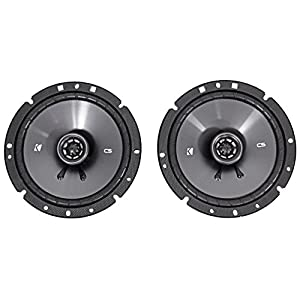"2) KICKER 43CSC674 6.75"" 600w Car Audio Speakers+2) 43CSC6934 6x9"" 900w Speakers"