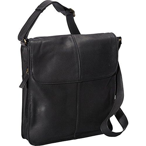 derek-alexander-ns-flap-shoulder-bag-black