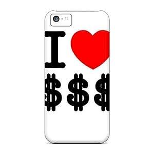 Brand New 5c Defender Case For Iphone (i Love Dollar Sign)