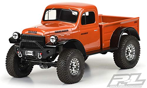 1946 Dodge Power Wagon Clear Body for 12.3in (313mm) 349900