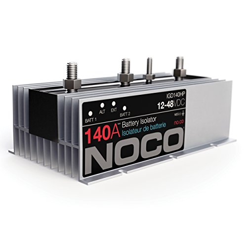 Bank Battery Isolator (NOCO IGD140HP 140 Amp Battery Isolator)