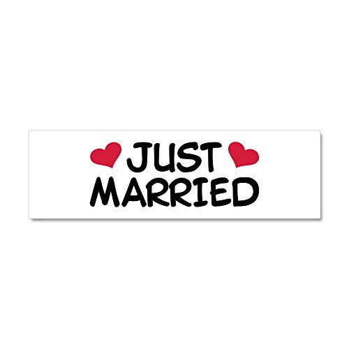 CafePress Married Wedding Magnetic Sticker product image