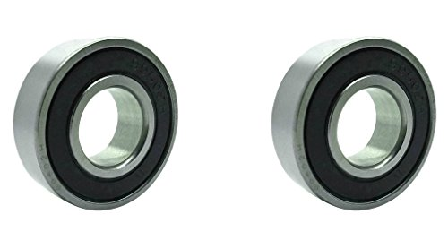 Two (2) 99502H-2RS Double Sealed Ball Bearings 5/8 x 1 3/8 x 7/16 Inch