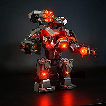 LEGO War Machine Buster Super Heroes 76124