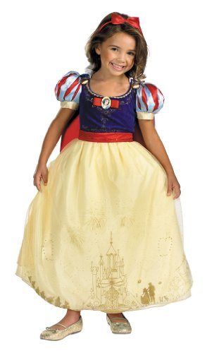 Authentic Snow White Costumes (Storybook Snow White Prestige Costume - Medium)
