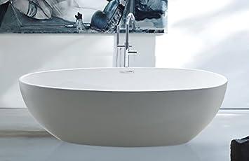 Wanne Freistehend spa freistehende badewanne rom wanne inkl ab und