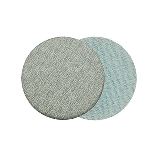 2 Inch (50mm) 600 Grit Aluminum Oxide White Dry No Holes Hook and Loop Sanding Discs for 2