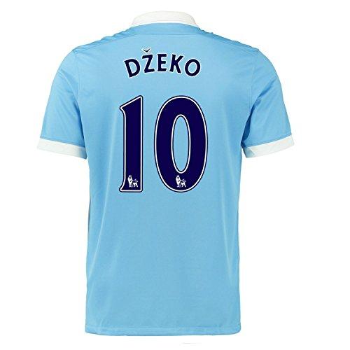 ペースト等しい宿泊Nike Dzeko #10 Manchester City Home Soccer Jersey 2015(Authentic name and number of player)/サッカーユニフォーム マンチェスター?シティ FC ジェコ 背番号10