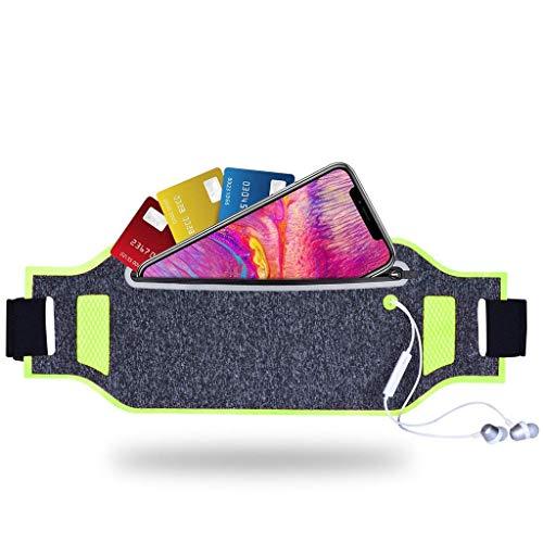 Tenplus Running Belt Waist Pack Compatible Meizu M5 Note Meilan Charm Blue Note 5 M621C M621H 5.5