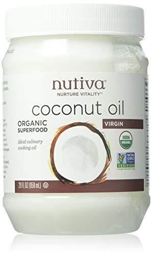 Cheap Nutiva Nutiva, Coconut Oil, Organic Virgin, 29 oz (823 g)