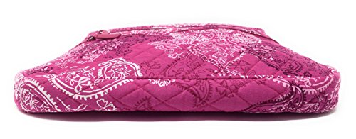 Zip Paisley Pink Interior With Cross Triple Bag Vera Bradley Body Hipster Stamped qHfEwUxwZ