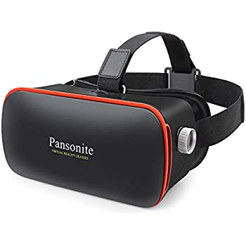 a724c609be0e Pansonite 3D VR Glasses Virtual Reality Headset for Games   3D Movies