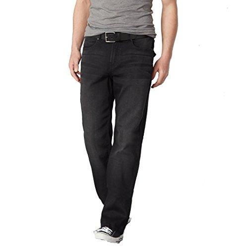 Nero 62 Jeans Taglia Fianchi For Uomo Men Elasticizzati Regular Castaluna qFHf8w