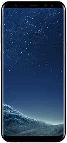 Samsung Galaxy S8 - 64GB - Midnight Black - Verizon + GSM Factory Unlocked 4G LTE (Renewed)