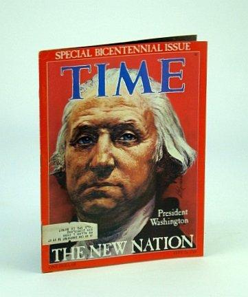 TIME MAGAZINE  SEPTEMBER 26, 1976 SPECIAL BICENTENNIAL ISSUE PRESIDENT WASHINGTON COVER ILLUSTRATION