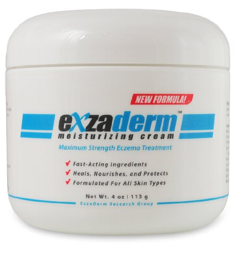 Exzaderm Moisturizing Cream - Eczema Remedies - Natural Cure for Eczema - An Eczema Treatment Over the Counter to Heal Skin