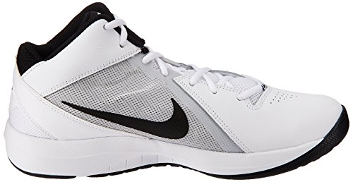 Platinum Nike black Ix Sport pure Overplay De basketball Blanc Homme white The Air Chaussures OrqwFOR