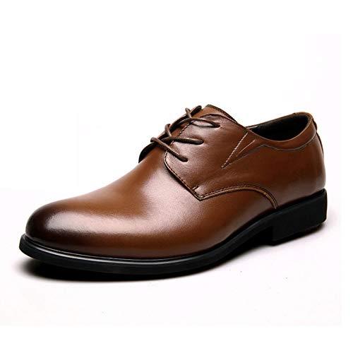 Exteriores Brown Zapatos Respirables Para Hombres De Cuero Negocios Casuales X8wTxS8qZ
