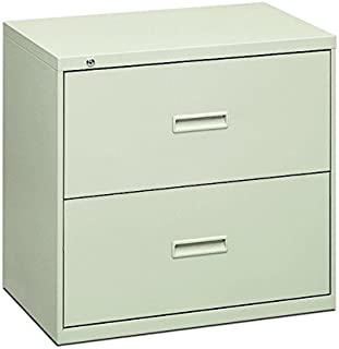 product image for HON Filing Cabinet - 400 Series Two-Drawer Lateral File Cabinet, 30w x 19-1/4d x 28-3/8h, Light Gray (434LQ)