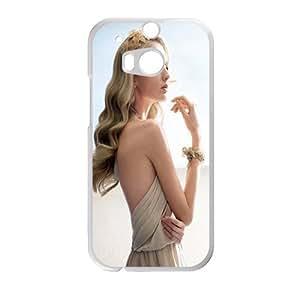 Noble Blonde Wedding Dress HTC ONE M8 Case Customize Parttern Design - Hard Plastic Cover Case Protection for plastic HTC ONE M8 Case
