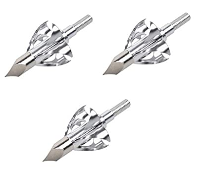 100 Grain Stainless Steel Blade Broadhead