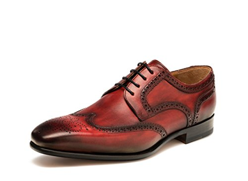 Magnanni Maxi Red Mens Lace-up Shoes Red GOozi