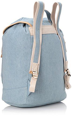Paul & Joe Backpack, Borsa a zainetto donna Blu Blau (Light Jeans 366 366) 28x18x38 cm (B x H x T)