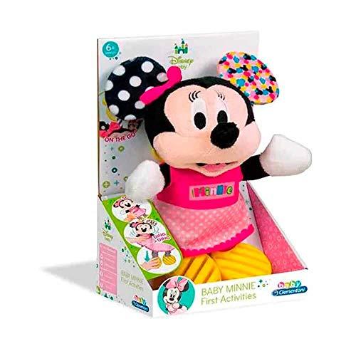 Pelúcia Clementoni Baby Minnie Material Fibra/ Poliéster Indicado para +6 Anos Rosa Multikids - BR808