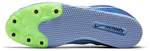 NIKE Zoom Rival D Distance Track Spikes Shoes Womens Size 7 (bluecap/Hyper Cobalt/Ghost)