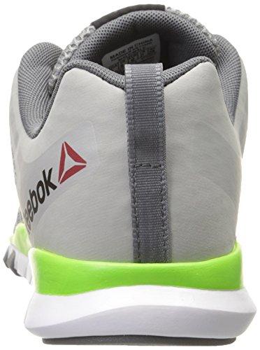 Reebok Mens TBD Train Training Shoe Tin Grey/Solar Green/Alloy ZTgah3qMz