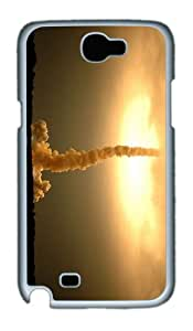 covers retro space shuttle launch PC White case/cover for samsung galaxy N7100/2