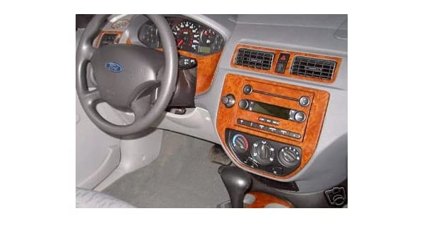 Amazon.com: FORD FOCUS INTERIOR BURL WOOD DASH TRIM KIT SET 2005 2006 2007: Automotive