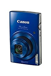 Canon Powershot Elph 190 Digital Camera W10x Optical Zoom & Image Stabilization - Wi-fi & Nfc Enabled (Blue)