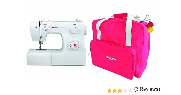 Singer Tradition 2250 - Máquina de coser (Color blanco): Amazon.es: Hogar